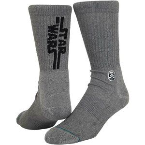 Stance Solid Storm Trooper Socks Grey Star Wars